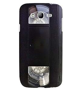 ColourCraft Retro Video Cassette Design Back Case Cover for SAMSUNG GALAXY GRAND I9082