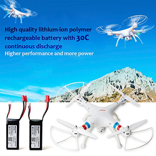 Batteria-Syma-X8-Morpilot-2-pcs-Batteria-Lipo-74V-2200mAh-2S-30C-Batteria-di-Ricambio-con-Connettore-Banana-per-Syma-X8C-X8G-X8W-X8HC-X8HG-X8HW-Holy-Stone-HS300-HS400-JXD-506G-Drone-Quadcopter
