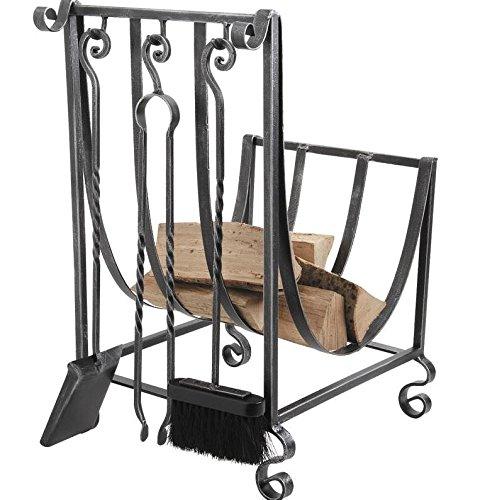 Cancello in ferro battuto di registro + 3 accessori