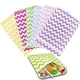 LFS 72 Candybar Tüten, Süßigkeitentüten, Candy Tüten, Tüten für BonBon/Hochzeit/Adventskalender
