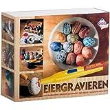 Pebaro Kit de gravure et de décoration pour œufs de Pâques