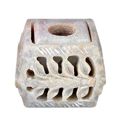 hashcart-43-cm-intagliato-a-mano-in-pietra-ollare-portacandela-con-intaglio