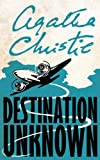 Destination Unknown by Agatha Christie front cover