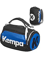 Kempa–Bolsa de deporte con función de mochila (Incluye pelota Red Negro/Azul 58x 32x 32cm, 60L