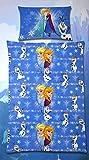 Disney Frozen - Die Eiskönigin Bettwäsche 2tlg. (Bettbezug) 135x200 cm (Kissenbezug) 80x80 cm Kinderbettwäsche Microfaser-Bettwäsche 100% Polyester