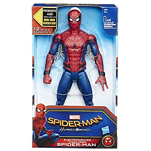 693100 - Elektronischer Titan Hero Spider-Man, Actionfigur ()