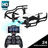720P HD Drone with Camera for Adults, JoyGeek 2MP FPV RC Quadcopter Wifi