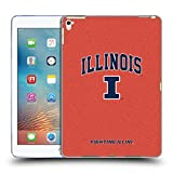 Head Case Designs Ufficiale University Of Illinois U Of I Tipo Di Logo Campus Cover Morbida In Gel Per Apple iPad Pro 9.7