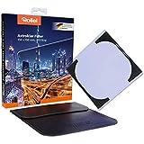 Rollei Astroklar Filtre rectangulaire |150mm  Filtre Anti-Pollution Lumineuse |Pour les photos de nuits d'astrophotographie