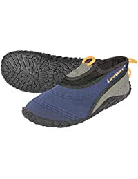 Aqua Sphere BEACHWALKER XP Zapatos de agua–color azul, Unisex, Beachwalker XP, naranja, EU 42/43