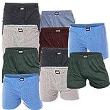 SGS 10er Pack Shorts für Herren Boxershorts Retrounterhosen (S)
