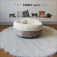 Kaxima Manta para Mascotas Arena para Gatos Cat Mate Caliente Gato Cerrado Saco pequeño Perro Perrera