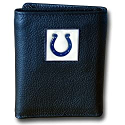 NFL Indianapolis Colts Genuine Leather Tri-fold Wallet