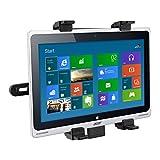 kwmobile Tablet Kopfstützenhalterung für Acer Aspire Switch 10 SW5-012 Schwarz - Auto KFZ Kopfstütze Tablethalterung