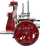 Berkel - Volano Aufschnittmaschine B2 Modell - Rot mit Golddekorationen - Neues Modell 2018
