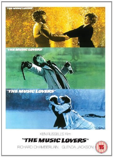 The Music Lovers 1970 DVD by Richard Chamberlain