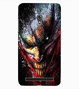 ColourCraft Scary Clown Design Back Case Cover for ASUS ZENFONE 6 A600CG