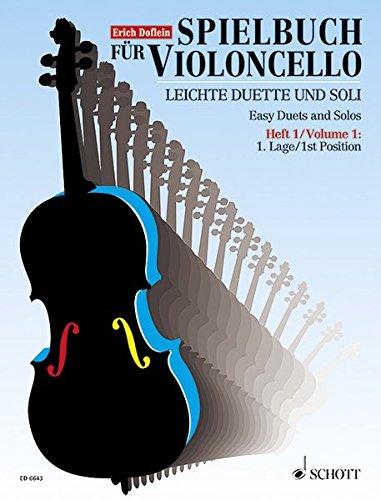 ncello: Leichte Duette und Soli aus dem 18. Jahrhundert. Band 1. 1 oder 2 Violoncelli. Spielpartitur. ()