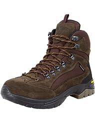 GUGGEN MOUNTAIN Los hombres zapatos de senderismo botas de trekking Montanismo Botas de montana impermeable con suela de Vibram HPM51