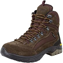 GUGGEN MOUNTAIN Los hombres zapatos de senderismo botas de trekking Montanismo Botas de montana impermeable con suela de Vibram Mujer HPM51