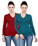 #8: Renka knitted pullover sweater for women (Pack of 2)