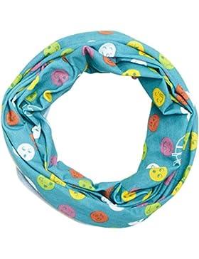 Lässig LTEXT21061 - Sciarpa colorata multifunzione, per bambini, Twister Kids Fruit Garden, taglia unica