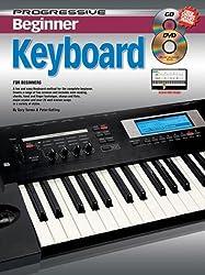Progressive: Beginner Keyboard (Book/CD/DVD). Pour Clavier
