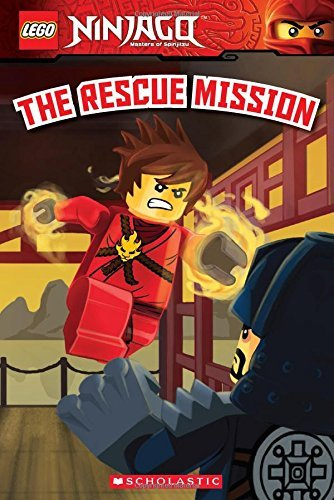 The Rescue Mission (LEGO Ninjago: Reader) by Kate Howard (2015-02-24)