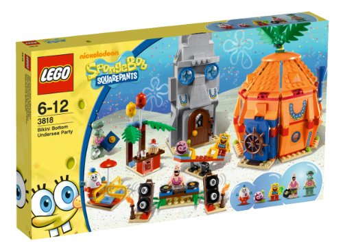 LEGO-SpongeBob-SquarePants-3818-Bikini-Bottom-Undersea-Party