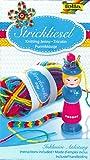 BRANDSSELLER Strickliesel Strick-Set - mit Anleitung und Wolle - Bunt