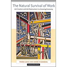 The Natural Survival of Work: Job Creation and Job Destruction in a Growing Economy