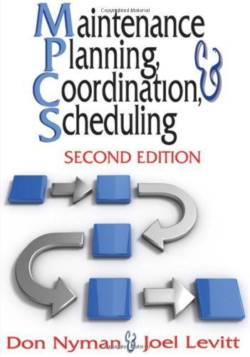 Maintenance Planning, Coordination & Scheduling by Nyman, Don Published by Industrial Press, Inc. 2nd (second) edition (2010) Hardcover