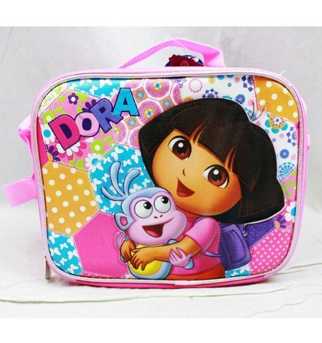 1 X Lunch Bag - Dora the Explorer - w/ Boots by Nickelodeon - Dora Lunch Bag