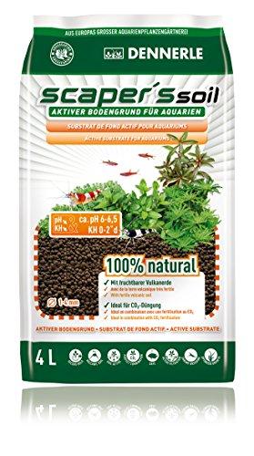 Dennerle 4580 Scaper's Soil Bodengrund 4 Liter