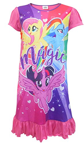 Girls My Little Pony Nightie - MLP Nightdress Ages 2 to 8 Years