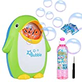 Nabance Automatic Bubble Machine with 1 Bottles and 4 Bubble Liquid for Party