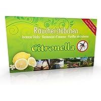 10 Packungen Citronella Anti Mücken Räucherstäbchen, Brenndauer ca. 60h (gesamt). XL Vorrat als Alternative zur... preisvergleich bei billige-tabletten.eu