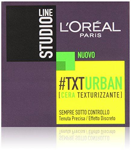 L'Oréal Paris Studio Line Txt Urban Cera Effetto Naturale, 75 ml