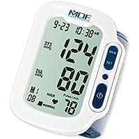 MDF® Lenus® - Muñeca digital monitor de presión arterial con Adulto clasificado Cuff Incluido - Blanco (MDFBP1504.