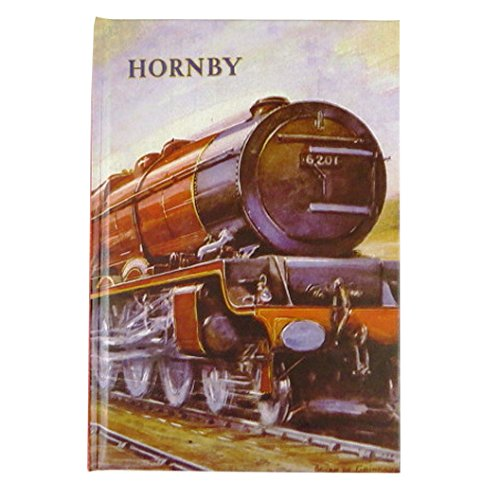 Hornby A5 Hard Cover Notebook - Hornby Collection, Steam Train - 160 Pages - by Robert Frederick