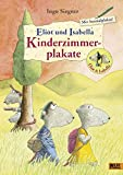 Eliot und Isabella-Kinderzimmerplakate: 4 Plakate + 1 Ausmalplakat