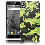 thematys Wiko Lenny 4 Plus + Camouflage (Nicht für Wiko Lenny 4) Handy-Hülle - Silikon - staubdicht, stoßfest & Leicht - Smartphone-Case Wiko Lenny 4 Plus +