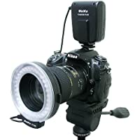 Pixtic - Flash annulaire macro Ring flash 32 LED pour Canon