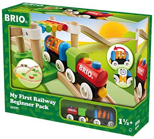 *BRIO World 33727 – Mein Erstes BRIO World Bahn Spiel Set, Zubehör*