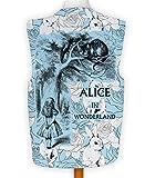 NEUHEIT Weste Kostüm Spass Legere Hirnrissig Alice im Wunderland blau Hase - Mehrfarbig, L