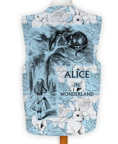 m Spass Legere Hirnrissig Alice im Wunderland blau Hase - Mehrfarbig, L ()