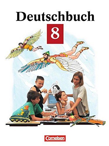 Deutschbuch 8. Neue Rechtschreibung, 2. Auflage