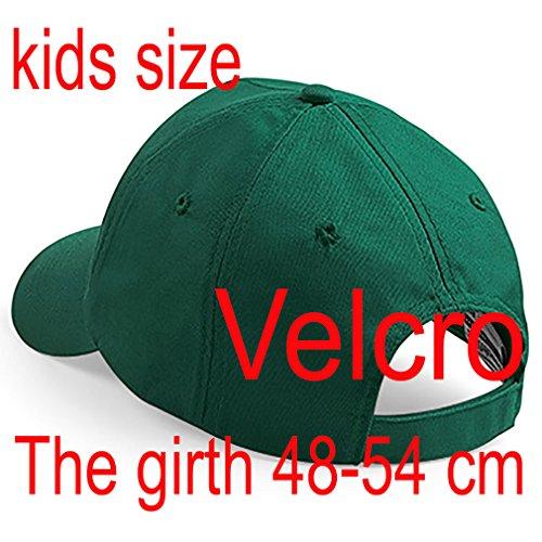 4sold casquette garcon Baseball Cap Fille Enfants Chapeau Bonnet Unisexe Botte Green A-Z Alphabet K