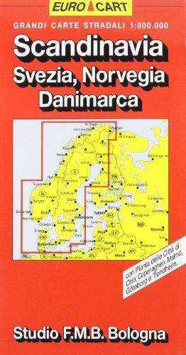 Scandinavia 1:800.000 (Euro Cart)