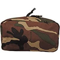 MFH LARGE UTILITY POUCH MOLLE POUCH WOODLAND